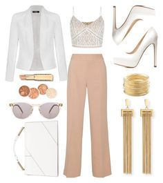 """""""White's, Beige & Gold"""" by le-style-de-it-up on Polyvore featuring New Look, Raoul, Charlotte Russe, Ally Fashion, Jason Wu, Our Legacy, Chloé and Avenue"""