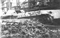 Manufacture of Panther & Jagdpanther Mnh