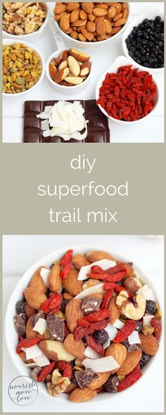 go nuts! this delicious blend of crunchy, chewy, sweet, and satisfying superfood trail mix is sure to curb every snack craving and deliver a sustainable burst of energy.