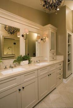 another bathroom.........we will build the vanities on site................heaven