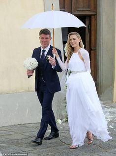 Pat Jennings' son Pat Jr. weds Irish model Sarah Morrisey in Italy #dailymail
