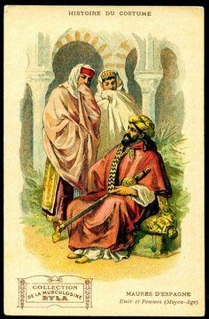 Byla Costumes - Moorish Spain by cigcardpix, via Flickr