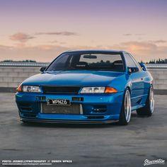 What a beauty Nissan Gtr R32, R32 Gtr, Skyline Gtr, Nissan Skyline, Nissan Gtr Wallpapers, Jdm Imports, Jdm Wallpaper, Import Cars, Stance Nation