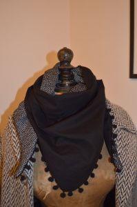Un foulard en triangle