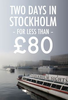 How to spend a whole weekend in #Stockholm for less than £80 (around $120), including food, transport and accommodation. Also includes tips on sightseeing on a budget. Know someone looking to hire top tech talent? Email me at mailto:carlos@recruitingforgood.com