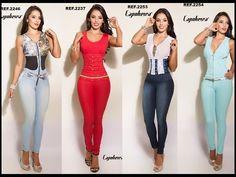Enterizo jean capohera nueva colección- ropa y moda colombiana