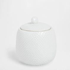 GLANZENDE POT MET STIPPEN - Accessoires - Bad | Zara Home Netherlands