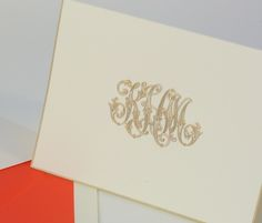 Crane and Co | Etiquette Social Stationery cards and notes