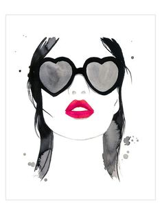 Kiss 'Em and Hide by Jessica Durrant (Canvas) by McGaw Graphics at Gilt