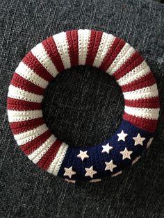 American Flag Häkelkranz