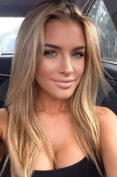 Golden Blonde Balayage for Straight Hair - Honey Blonde Hair Inspiration - The Trending Hairstyle Caramel Blonde Hair, Beauté Blonde, Girls With Blonde Hair, Caramel Hair Colors, Blonde Hair Honey Caramel, Beige Blonde Hair Color, Blonde Layered Hair, Medium Blonde, Blonde Hair Blue Eyes