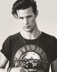 Matt Smith with a Guns N Roses tee? I'm in!