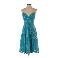 Pre-owned Aidan Mattox Cocktail Dress Size 4: Blue Women's Dresses (83 CAD) ❤ liked on Polyvore featuring dresses, blue, aidan mattox, aidan mattox cocktail dress, pre owned dresses, preowned dresses and blue dress