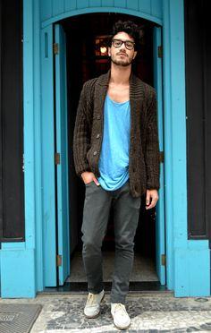 Look do editor: Cardigan e regata Opostos para... - TrendCoffee l Blog de moda masculina e dicas para homens