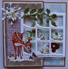 Great idea to try. Company Christmas Cards, Christmas Card Crafts, Christmas Cards To Make, Xmas Cards, Handmade Christmas, Holiday Cards, Christmas Decorations, 1st Birthday Girl Decorations, Homemade Birthday Cards