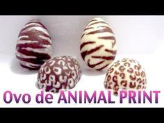 Faça você mesma / DIY: Ovo de Páscoa de Animal Print | ONÇA e ZEBRA Karen Fukuda