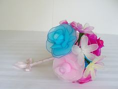 Gorgeous bridal wedding bouquet 005 by kandrhobbies on Etsy