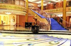 Wow! At three stories, the lobby of #Disney's Fantasy cruise is anything but 'minnie'.   http://www.fodors.com/news/story_5413.html