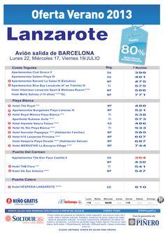 Hasta 80% hoteles en Lanzarote. salidas desde Barcelona - http://zocotours.com/hasta-80-hoteles-en-lanzarote-salidas-desde-barcelona-4/