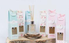 Μπομπονιέρα βάπτισης Soap Tales Αρωματικό χώρου με αιθέρια έλαια σε 3 αρώματα Candles, Candy, Candle Sticks, Candle
