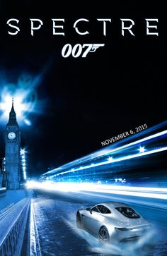 James Bond Movies Planes Trains Yachts and Cars 007 Contra Spectre, Spectre Movie, Spectre 2015, 007 Spectre, James Bond Movie Posters, James Bond Books, James Bond Movies, Film Posters, Bond Series