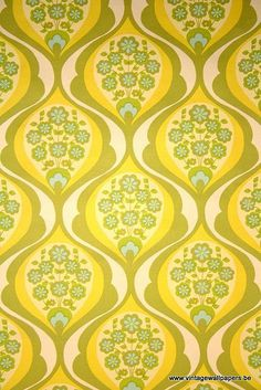 Vintage Wallpapers (277) by www.cityzine.be on Flickr.
