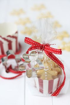 Cute packaging for Christmas sweets.