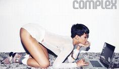 Rihanna's sexy Complex magazine photos Mode Rihanna, Rihanna Fenty, Rihanna Style, Best Online Shopping Sites, Online Clothes Shopping, Online Shopping For Women, Rihanna Photos, Brunettes, Journals