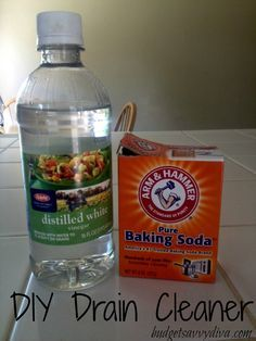 How To Unclog A Drain With Baking Soda Vinegar Amp Boiling