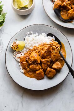This Thai inspired coconut milk curry chicken recipe is full of flavor and made in one pan. It makes a great weeknight dinner that can be ready in about 30 minutes. Coconut Milk Chicken, Coconut Milk Recipes, Coconut Milk Curry, Cocnut Milk, Curry Recipes, Asian Recipes, Real Food Recipes, Ethnic Recipes, Baked Curry Chicken