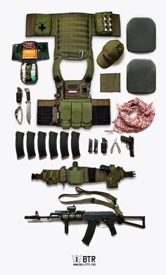 Bulletfly Tactical Russia Loadout