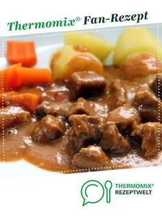 Gulasch - lecker und einfach von Kochfee Dithmarschen. Ein Thermomix ® Rezept aus der Kategorie Hauptgerichte mit Fleisch auf www.rezeptwelt.de, der Thermomix ® Community.
