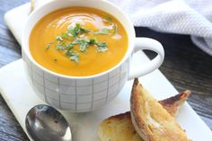 This slow cooked pumpkin soup couldn't get much easier.  I mean, you just have to literally put everything in your slow cooker, cook it, then blitz it.  ANYONE can handle this!! To make it a …