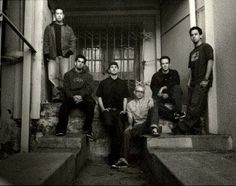 Linkin park in the haunted room of The Ambbassador Hotel