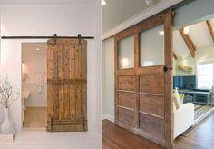 15 inspirations pour recycler une porte ancienne