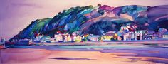 Mumbles Bay by Michelle Scragg Ltd Edition Print