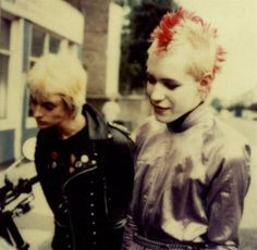 Big Hair, Fishnets, and Eyeliner   A Gallery of 80's Goth and Deathrock Culture Part II – Post-Punk.com