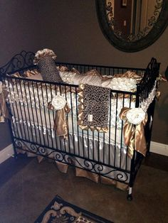 3 PC Set includes Sheet, Skirt (3-Sided) and boutique bumper. If youd like a 4 piece set including the blanket or prefer a 4-sided crib skirt,
