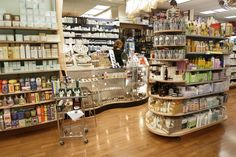 See us in Vogue.com Homeopathic, High-End Beauty Products in Chelsea  New London Pharmacy Spas Contact 212.243.4987 Address 246 Eighth Avenue New York, NY  This Chelsea shop has a bit of a medicinal feel—but once you get past the doctor's-visit vibe, you'll find a host of organic and high-end products at your disposal. Italo Zucchelli stops by for beauty basics, and here you can find everything from Dr. Brandt Skincare's finest toners to rich Moroccanoil shampoos and beyond.