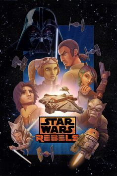 This poster is my entry into the Star Wars Rebels season 2 art contest. I greatly enjoyed the first season of Rebels and am really looking forward to season two. When I heard that StarWars.com was ...