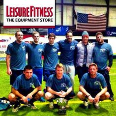 @leisurefitness - #leisurefitness soccer team - #champions of the 2013 New Castle County Indoor League!  #befitstayfitlivewell campaign #soccer #football #footie #soccerchampions #wedidit #letsgo