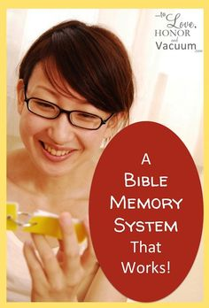 How to Memorize Bible Verses
