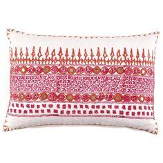 George Clooney style - John Robshaw Textiles - Primrose Decorative Pillow - Primrose $130