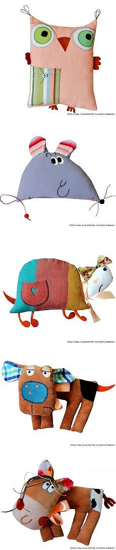 Подушки-игрушки от GOHA