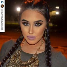 Gorgeous Arabian #makeup look using Motives LBD Gel Liner and In The Nude palette!  #Repost @beautybyhayley365  Late night photo shoot  absolutely in love with this grungy look  wearing - - Eyes : @motivescosmetics LBD Gel Liner and In the Nude palette in shades Cream Fawn Dazzle Force and Luxe // @shophudabeauty @hudabeauty lashes in Scarlett // - Face & Brows : @anastasiabeverlyhills dip brow in Granite Clear brow gel and Cream contour kit in medium dark and highlight in So Hollywood…