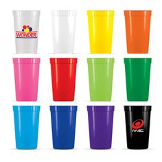 Holding an event or function? Why get disposable plastic cups when you can get branded reusable ones instead? Give them to your clients and team members for usage at your event and as a keepsake. Available in a range of colours, these inexpensive 400mL cups are made from BPA free polypropylene, and are dishwasher safe. Perfect for outdoor events or functions where glassware or ceramics would be a concern.   From $1.12 per unit.  http://www.planetmugs.com.au/reusable-plastic-stadium-cups