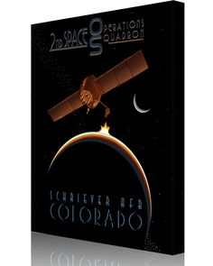 Share Squadron Posters for a 10% off coupon! Schriever AFB 2nd SOPS #http://www.pinterest.com/squadronposters/