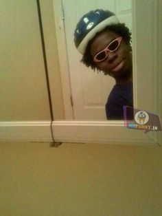 When you're drunk at a party and you pass a mirror