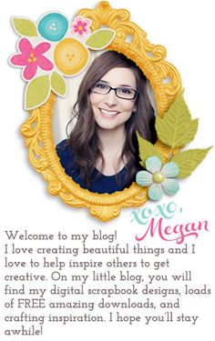 Free Digital Scrapbook Kits | Designs by Megan Turnidge | Digital Scrapbooking and Crafting Blog
