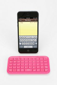 cute // mini bluetooth keyboard // Urban Outfitters // $30